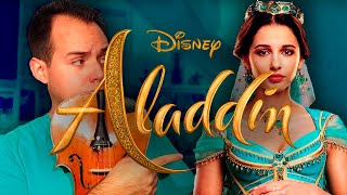 Speechless VIOLIN/GUITAR/PIANO COVER | Aladdin
