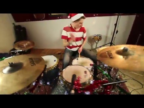 """Jingle Bell Rock"" - Newsboys - Drum Cover"