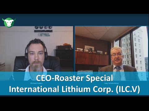 CEO-Roaster mit Gary Schellenberg von International Lithium Corp. (TSX-V: ILC)