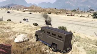 Grand Theft Auto V - Heist FAIL! Missed it by that much....