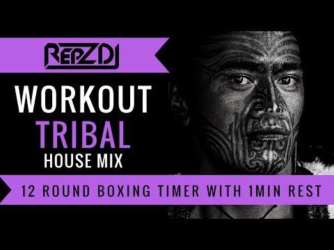 🔥 REPZ DJ - Tribal House Workout Mix / Motivation Mix / With Countdown Timer 🔥