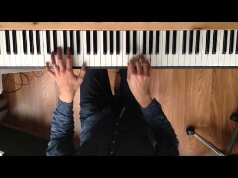 Imagine piano part + slow + free sheet music