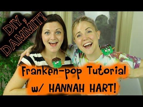 HOW TO MAKE A HALLOWEEN FRANKEN-POP W/ HANNAH HART -- DIY, DAMMIT!