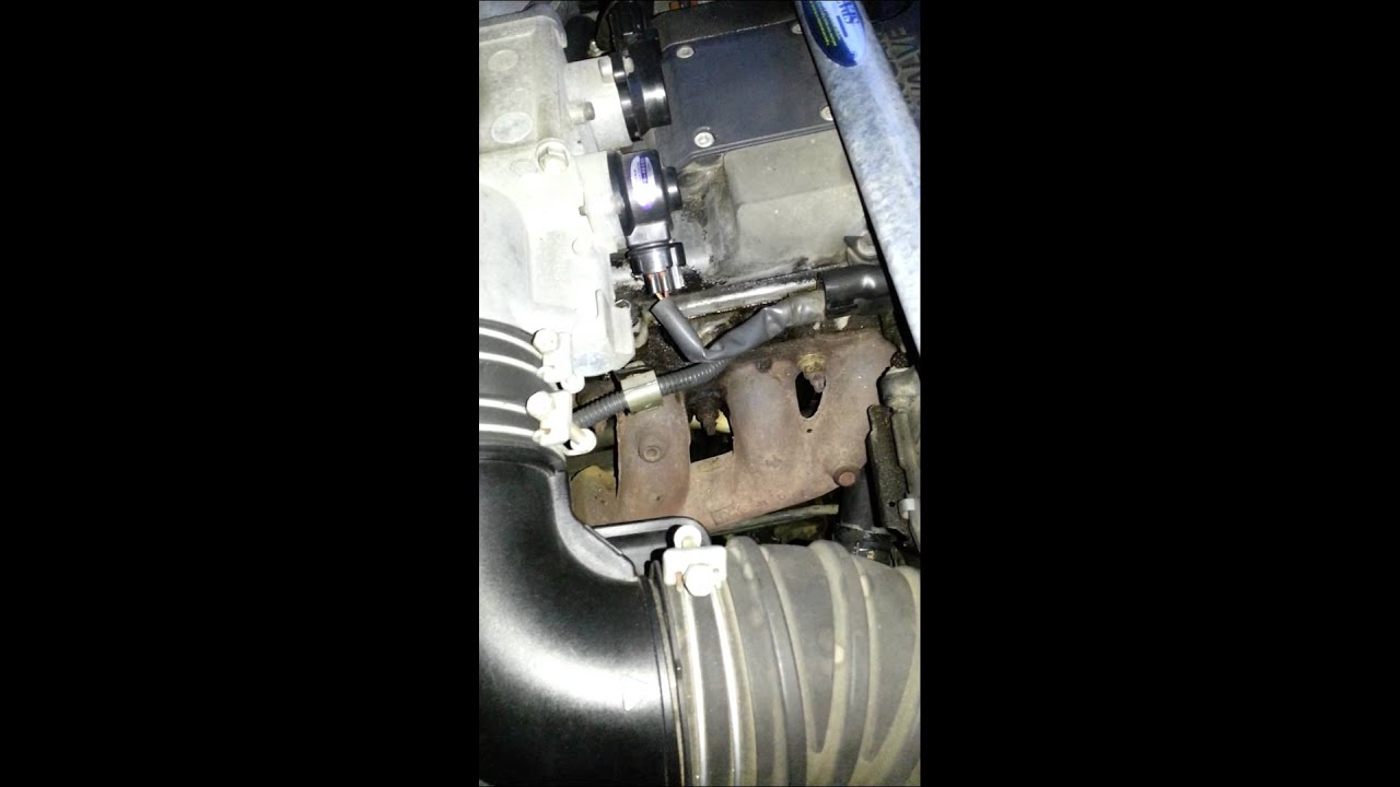how to fix an exhaust manifold leak