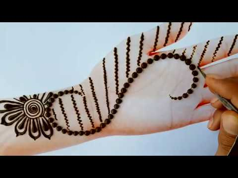 #Mehndi New #design simple method | New Year Special from YouTube · Duration:  2 minutes