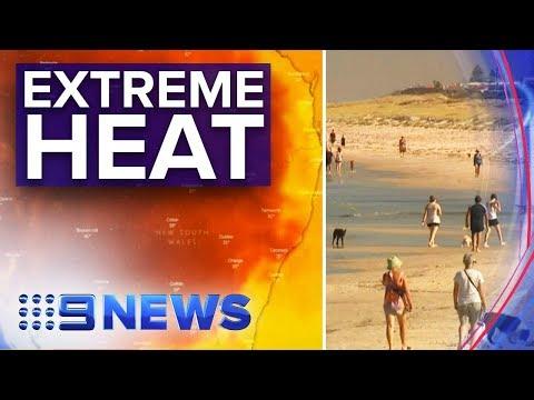 Record-breaking heatwave set to hit much of Australia | Nine News Australia