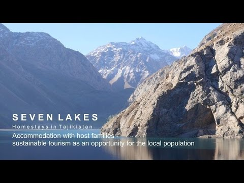 Insider tip for backpackers in Asia: the Seven Lakes in Tajikistan