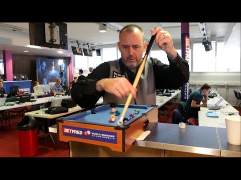 Micro Snooker Challenge: Mark Williams