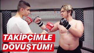 14 YAŞINDA TAKİPÇİ VS MERTCAN BAHAR MMA MAÇI!
