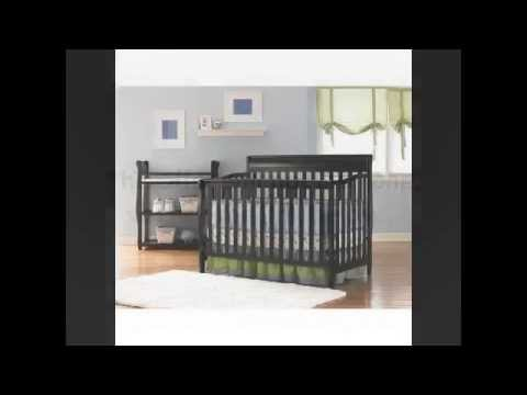 best baby crib review baby cribs graco stanton convertible crib classic cherry youtube. Black Bedroom Furniture Sets. Home Design Ideas