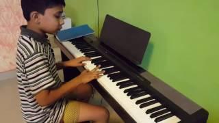 Download Hindi Video Songs - #kabali Vaanam parthen in piano by Rksarvesh