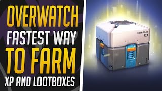 Overwatch - Fastest Way to Farm XP in Custom Games