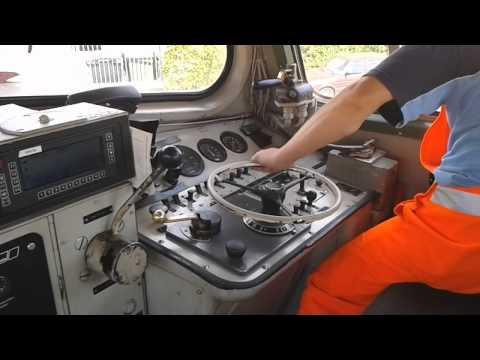 Diesellok Führerstandsmitfahrt V