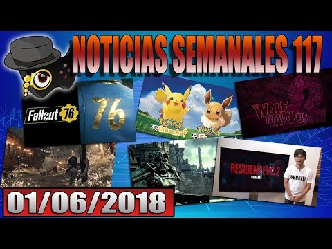 NOTICIAS VIDEOJUEGUILES DE LA SEMANA 117: FALLOUT 76, ASSASSINS CREED ODYSSEY...