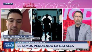 """La falta de terapistas es previa a la pandemia del Covid"""