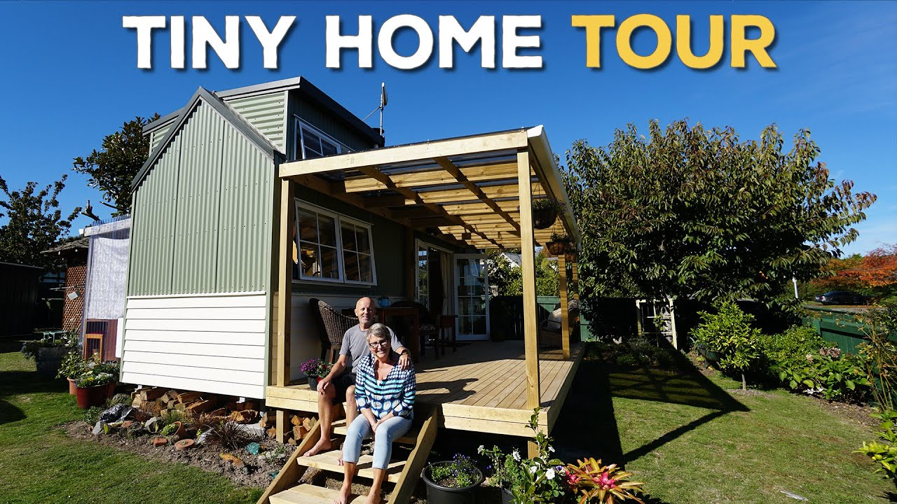 Stunning Tiny Home In Taupo, New Zealand | Tour + Q&A