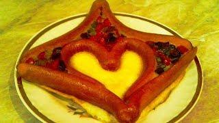 Шикарный завтрак для любимого. Невероятно вкусный горячий завтрак