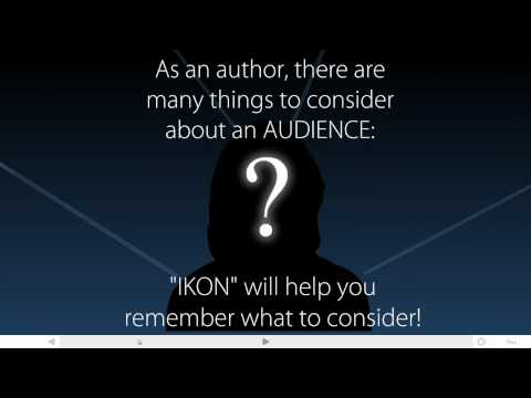 Considering Audience in Writing