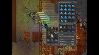 Epic Tibia hacks by Vendeto & Luris - 2011 - high levels - PART II