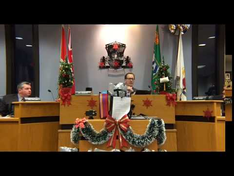 December 12, 2017 City Council Meeting