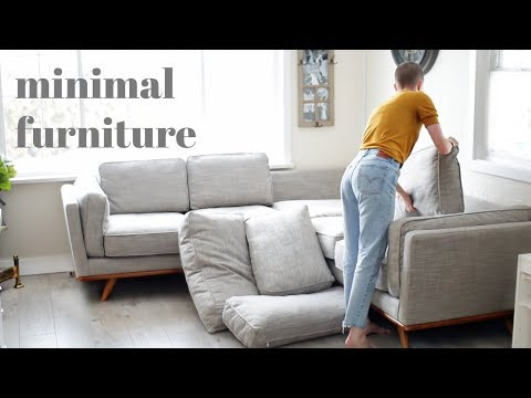 MINIMALISM | Getting Furniture For Our Small Space