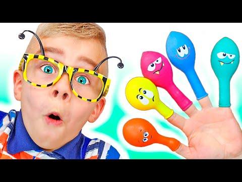 canción-de-color-de-la-familia-del-dedo- -canción-infantil- -canciones-infantiles-tamiki-amiki
