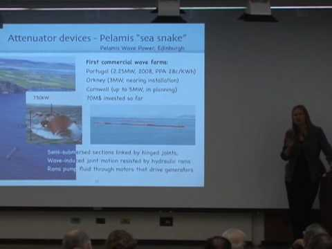 Marine Energy Technology: Waves and Currents