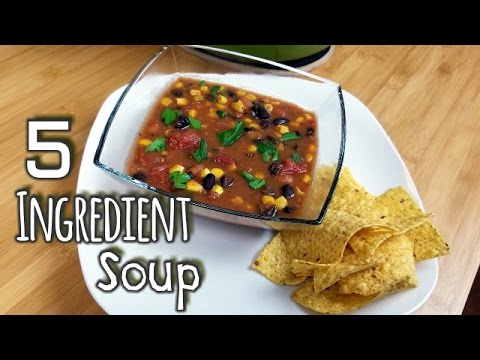 5 Ingredient Tortilla Soup  What's For Din'?  Courtney Budzyn  Recipe 69