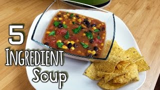 5 Ingredient Tortilla Soup - What's For Din'? - Courtney Budzyn - Recipe 69