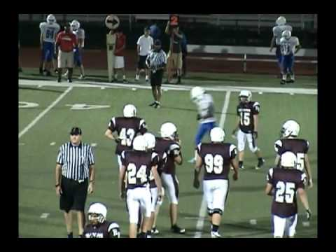 9th Football Round Rock Dragons vs Leander Lions 10/6/11