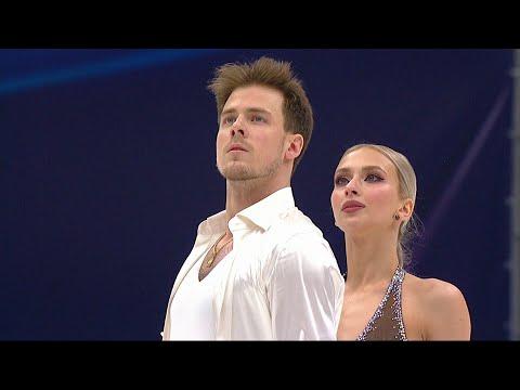 Виктория Синицина и Никита Кацалапов прервали выступление из-за травмы партнерши