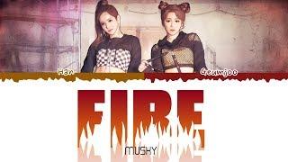 MUSKY (머스키) - Fire (English Ver.)