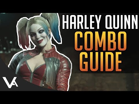 Injustice 2 - Harley Quinn Combos! Easy Combo Guide For Beginners In Injustice 2