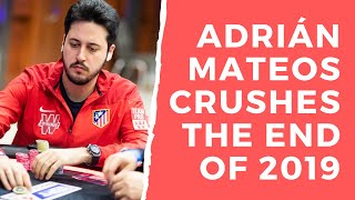 Adrián Mateos CRUSHING the end of 2019!