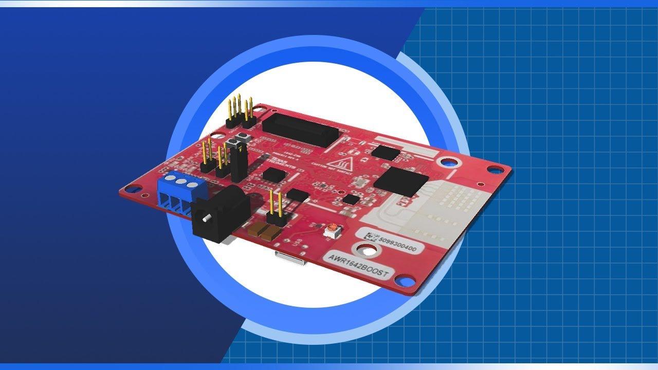 Texas Instruments IWR1642BOOST mmWave Sensor EVM | New Product Brief