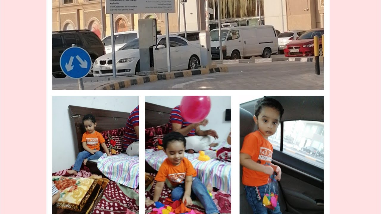 M.ibrahim loves Balloons |A good spend with baby friends |