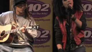 Tokio Hotel - Monsoon (Acoustic) - Philadelphia Q102 (10.29.08)