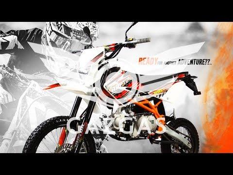 Review Gazgas Raptor 100 & 125 cc