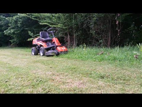 Husqvarna Rider R 214TC  (EDITION LIMITED)  IN ACTION !