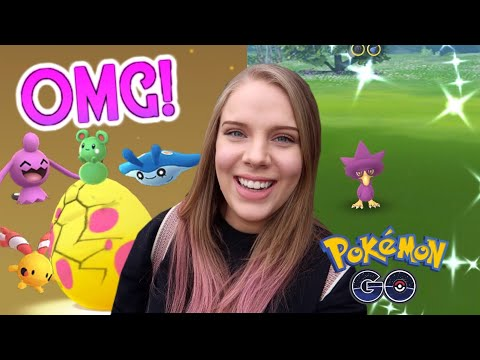 RARE BABY POKÉMON HATCH IN POKEMON GO! + Surprise Shiny! Pigeon Forge Vlog thumbnail
