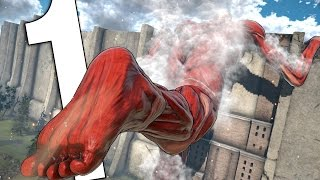 THIS GAME IS BEAUTIFUL! | ATTACK ON TITAN (PC) - STORY GAMEPLAY #1
