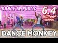 DANCE MONKEY In PUBLIC Natya, Naissa, Rendy