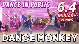 Download lagu DANCE MONKEY in PUBLIC | Natya, Naissa, Rendy