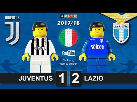 Juventus - Lazio 1-2 • Serie A (14/10/2017) Goal Highlights Film Juve Lazio Lego Calcio 2017/18