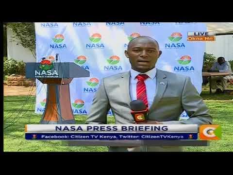 Citizen Extra : NASA Press briefing at Okoa Kenya