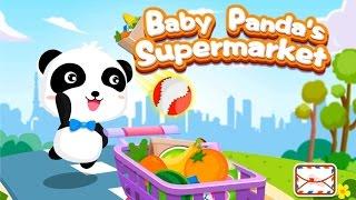Малыш панда в супермаркете - Развивающее видео для детей