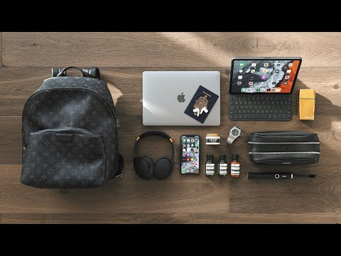 My Travel Bag Essentials (after 100 Flights in a year)