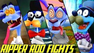 Evolution of Ripper Roo Battles in Crash Bandicoot Games (1996-2017)