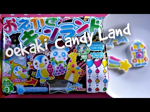 Popin' Cookin' Oekaki Candy Land - Whatcha Eating? #162