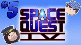 Space Quest IV: Write This Down - PART 5 - Steam Train